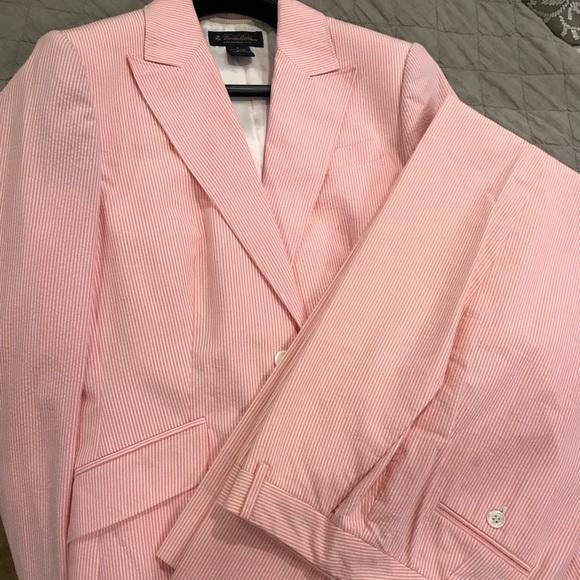 Brooks Brothers Other Womens Seersucker Suit Poshmark
